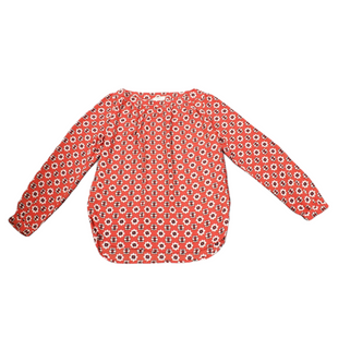 Primary Photo - BRAND: ANN TAYLOR LOFT O STYLE: TOP LONG SLEEVE COLOR: ORANGE SIZE: PETITE   SMALL SKU: 196-196112-50532