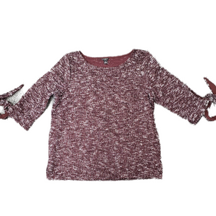 Primary Photo - BRAND: ANN TAYLOR STYLE: TOP LONG SLEEVE COLOR: BURGUNDY SIZE: PETITE LARGE SKU: 196-196145-443