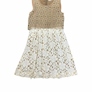 Primary Photo - BRAND: ALTARD STATE STYLE: DRESS SHORT SLEEVELESS COLOR: BEIGE SIZE: S SKU: 196-196145-3494