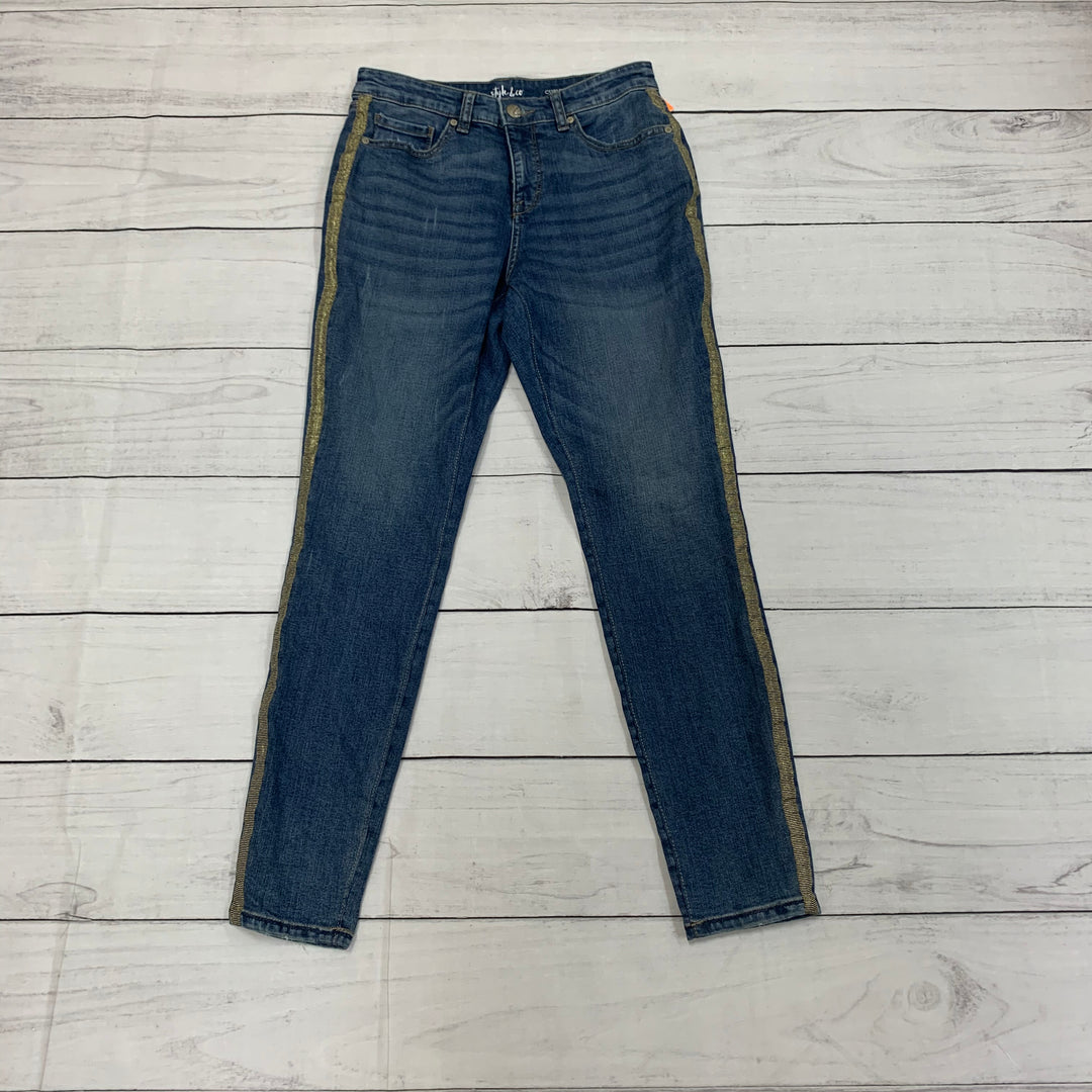 Primary Photo - BRAND: STYLE AND COMPANY <BR>STYLE: JEANS <BR>COLOR: DENIM BLUE <BR>SIZE: 4 <BR>SKU: 196-196112-47814