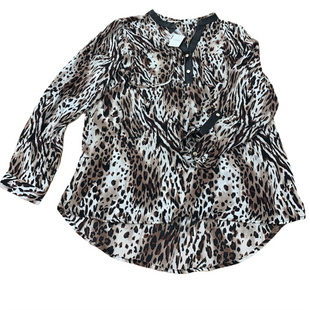Primary Photo - BRAND:    CLOTHES MENTOR STYLE: TOP LONG SLEEVE COLOR: ANIMAL PRINT SIZE: L OTHER INFO: TANTRUMS - SKU: 196-19666-18359