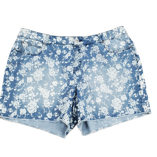 Primary Photo - BRAND: CATO STYLE: SHORTS COLOR: BLUE WHITE SIZE: 22 SKU: 196-196144-681