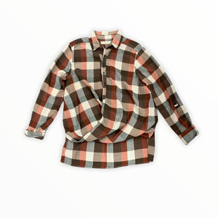 Primary Photo - BRAND: BLANKNYC STYLE: TOP LONG SLEEVE COLOR: RED PLAID SIZE: S SKU: 196-196132-3043