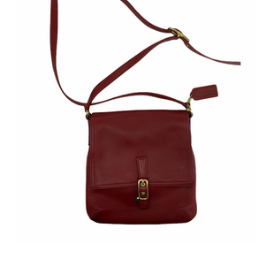 Primary Photo - BRAND: COACH STYLE: HANDBAG DESIGNER COLOR: RED SIZE: SMALL SKU: 196-196112-56598