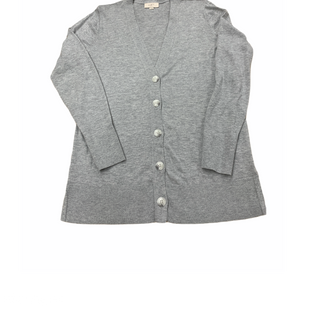 Primary Photo - BRAND: ANN TAYLOR LOFT O STYLE: SWEATER CARDIGAN LIGHTWEIGHT COLOR: GREY SIZE: M SKU: 196-196145-1033