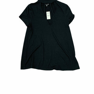 Primary Photo - BRAND: EXPRESS STYLE: TOP SHORT SLEEVE COLOR: BLACK SIZE: XS SKU: 196-19694-34853