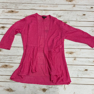 Primary Photo - BRAND: EILEEN FISHER STYLE: SWEATER CARDIGAN LIGHTWEIGHT COLOR: PINK SIZE: XS SKU: 196-19681-70336