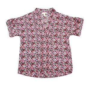 Primary Photo - BRAND: MICHAEL BY MICHAEL KORS STYLE: TOP SHORT SLEEVE BASIC COLOR: PINKBLACK SIZE: M SKU: 196-196133-4268