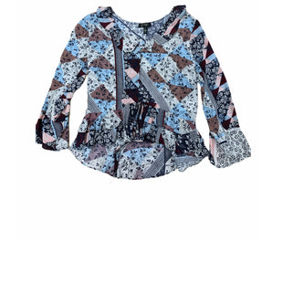Primary Photo - BRAND: JESSICA SIMPSON STYLE: TOP LONG SLEEVE COLOR: BLUE SIZE: M SKU: 196-196112-51225