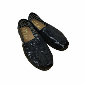 Primary Photo - BRAND: TOMS STYLE: SHOES FLATS COLOR: BLACK SIZE: 7 SKU: 196-19681-73343