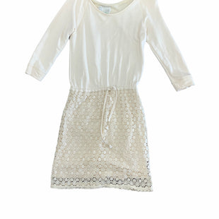 Primary Photo - BRAND: ANTHROPOLOGIE STYLE: DRESS SHORT LONG SLEEVE COLOR: CREAM SIZE: XS SKU: 196-14511-48223
