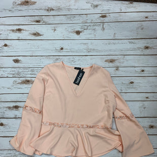 Primary Photo - BRAND: BOOHOO BOUTIQUE STYLE: TOP LONG SLEEVE COLOR: PEACH SIZE: 1X SKU: 196-196112-49345