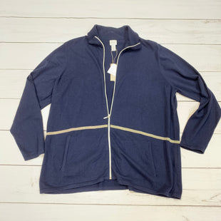Primary Photo - BRAND: ZENERGY BY CHICOS STYLE: ATHLETIC JACKET COLOR: BLUE SIZE: 1X SKU: 196-19681-71341