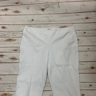 Primary Photo - BRAND: DALIA STYLE: CAPRIS COLOR: WHITE SIZE: 22 SKU: 196-196141-3183