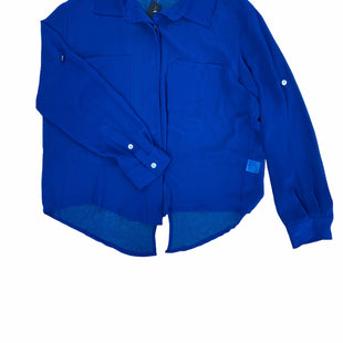 Primary Photo - BRAND: VINTAGE HAVANA STYLE: TOP LONG SLEEVE COLOR: ROYAL BLUE SIZE: S SKU: 196-19694-34166