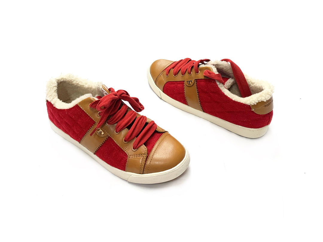 Primary Photo - BRAND: TORY BURCH<BR>STYLE: SHOES ATHLETIC<BR>COLOR: RED<BR>SIZE: 10.5<BR>OTHER INFO: NEW!<BR>SKU: 145-14530-73524