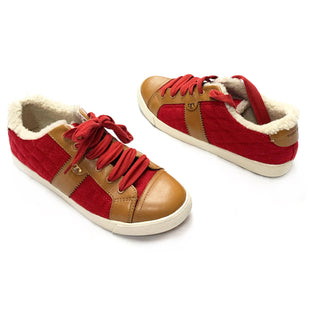 Primary Photo - BRAND: TORY BURCHSTYLE: SHOES ATHLETICCOLOR: REDSIZE: 10.5OTHER INFO: NEW!SKU: 145-14530-73524