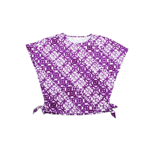 Primary Photo - BRAND:    BELLE BY KIM GRAVELSTYLE: TOP SHORT SLEEVE COLOR: PURPLE SIZE: XXS SKU: 196-196112-58354