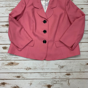 Primary Photo - BRAND: JONES STUDIO STYLE: BLAZER JACKET COLOR: PINK SIZE: 2X SKU: 196-196112-49363