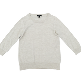 Primary Photo - BRAND: J CREW STYLE: SWEATER LIGHTWEIGHT COLOR: OATMEAL SIZE: S SKU: 196-196112-57434