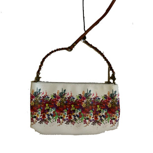 Primary Photo - BRAND: ELLIOT LUCCASTYLE: HANDBAGCOLOR: WHITESIZE: SMALLOTHER INFO: FLORAL PRINTSKU: 196-196112-47130