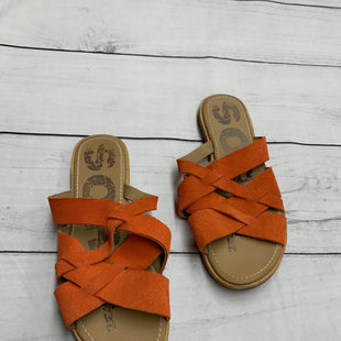 Primary Photo - BRAND: SOREL STYLE: SANDALS FLAT COLOR: ORANGE SIZE: 8.5 SKU: 190-190106-40433