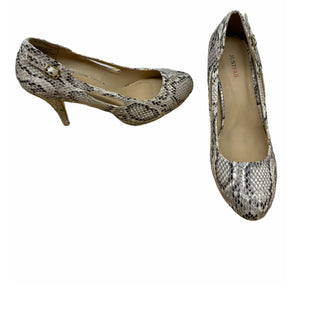 Primary Photo - BRAND: JUST FAB STYLE: SHOES LOW HEEL COLOR: SNAKESKIN PRINT SIZE: 7.5 SKU: 196-196145-306