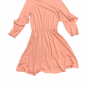 Primary Photo - BRAND: HALSTON STYLE: DRESS SHORT LONG SLEEVE COLOR: PINK SIZE: XS SKU: 196-196112-50480