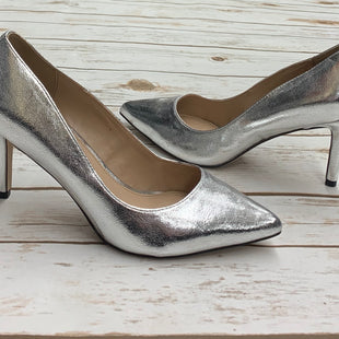 Primary Photo - BRAND: BCBGENERATION STYLE: SHOES HIGH HEEL COLOR: SILVER SIZE: 5.5 SKU: 196-14511-44483