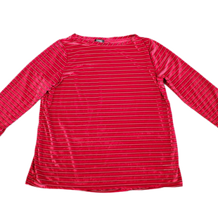 Primary Photo - BRAND: JONES NEW YORK STYLE: TOP LONG SLEEVE COLOR: RED BLACK SIZE: XL SKU: 196-196145-1118