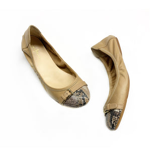 Primary Photo - BRAND: COLE-HAAN STYLE: SHOES FLATS COLOR: BEIGE SIZE: 7.5 OTHER INFO: SNAKESKIN TOES SKU: 196-196112-48920