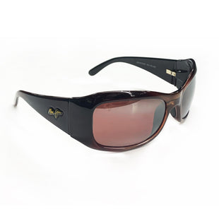 Primary Photo - BRAND:  CMA STYLE: SUNGLASSES COLOR: BROWN OTHER INFO: MAUI JIM - HIBISCUS SPORTS WRAP SKU: 196-14511-46191