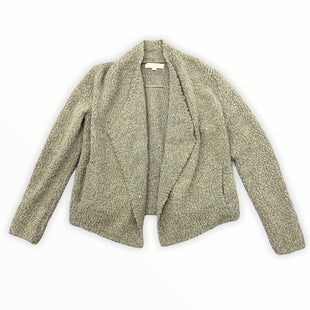 Primary Photo - BRAND: ANN TAYLOR LOFT STYLE: SWEATER CARDIGAN HEAVYWEIGHT COLOR: BROWN SIZE: L SKU: 196-196112-52845