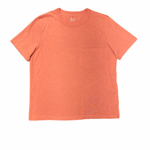Primary Photo - BRAND: MADEWELL STYLE: TOP SHORT SLEEVE BASIC COLOR: ORANGE SIZE: S SKU: 196-196145-1730