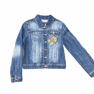 Primary Photo - BRAND: BACCINI STYLE: JACKET OUTDOOR COLOR: DENIM SIZE: M SKU: 196-196135-1934