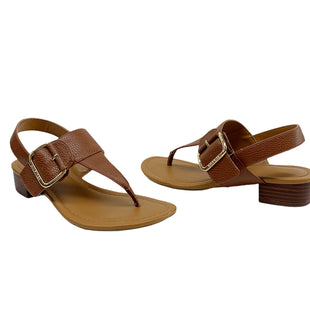 Primary Photo - BRAND: TOMMY HILFIGER STYLE: SANDALS LOW COLOR: BROWN SIZE: 7.5 SKU: 196-196141-4137