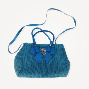 Primary Photo - BRAND:  CMB STYLE: HANDBAG DESIGNER COLOR: BLUE SIZE: MEDIUM OTHER INFO: LUISA VANNINI - SKU: 196-14511-46371