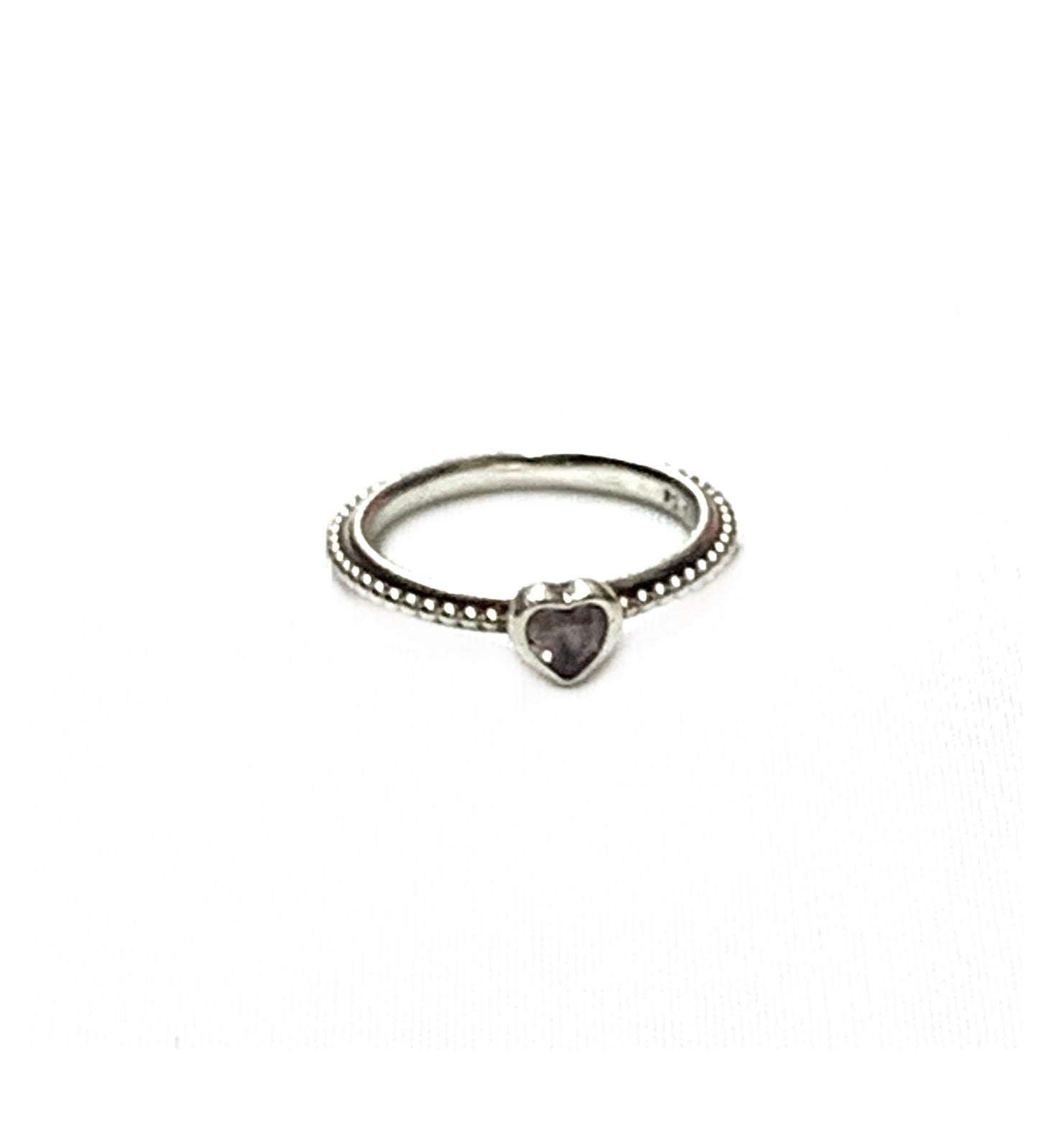 Primary Photo - BRAND: PANDORA<BR>STYLE: RING<BR>COLOR: SILVER<BR>SKU: 190-190140-14953