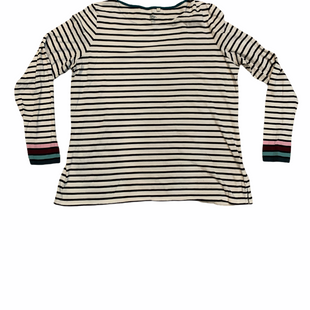 Primary Photo - BRAND: BODEN STYLE: TOP LONG SLEEVE COLOR: WHITE BLACK SIZE: 1X SKU: 196-196112-55538