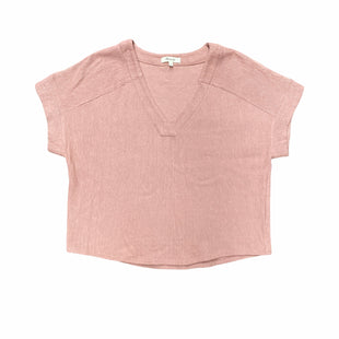 Primary Photo - BRAND: MADEWELL STYLE: TOP SHORT SLEEVE COLOR: DUSTY PINK SIZE: S SKU: 196-196145-1731