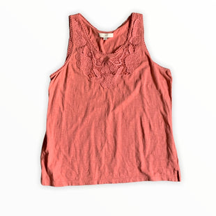 Primary Photo - BRAND: ANN TAYLOR LOFT STYLE: TOP SLEEVELESS COLOR: PINKSIZE: XL SKU: 196-196112-53991