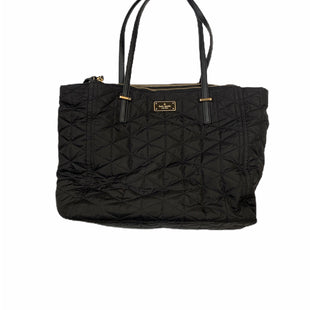 Primary Photo - BRAND: KATE SPADE STYLE: HANDBAG DESIGNER COLOR: BLACK SIZE: LARGE SKU: 196-196112-52424
