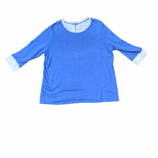 Primary Photo - BRAND: FRESH PRODUCE STYLE: SWEATSHIRT HOODIE COLOR: BLUE SIZE: 2X SKU: 196-14511-47669