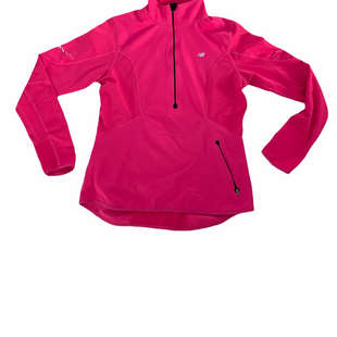 Primary Photo - BRAND: NEW BALANCE STYLE: ATHLETIC TOP COLOR: FUSCHIA SIZE: M SKU: 196-19666-17927