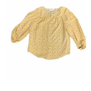 Primary Photo - BRAND: LOFT STYLE: TOP LONG SLEEVE COLOR: MUSTARD SIZE: M SKU: 196-14511-47112