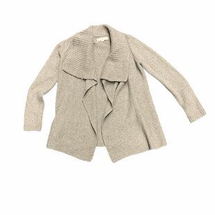 Primary Photo - BRAND: ANN TAYLOR LOFT STYLE: SWEATER CARDIGAN HEAVYWEIGHT COLOR: TAN SIZE: S SKU: 196-19681-72368