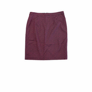 Primary Photo - BRAND: HALOGEN STYLE: SKIRT COLOR: BLACK RED SIZE: 8 SKU: 196-196112-58876