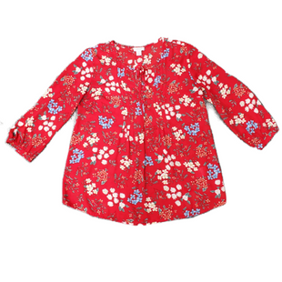 Primary Photo - BRAND: KENAR STYLE: TOP LONG SLEEVE COLOR: RED SIZE: S SKU: 196-19681-72068