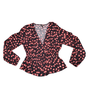 Primary Photo - BRAND: EXPRESS STYLE: TOP LONG SLEEVE COLOR: BLACK RED SIZE: M SKU: 196-196144-367