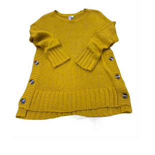Primary Photo - BRAND: ALYA STYLE: SWEATER CARDIGAN LIGHTWEIGHT COLOR: MUSTARD SIZE: M SKU: 196-196132-2768